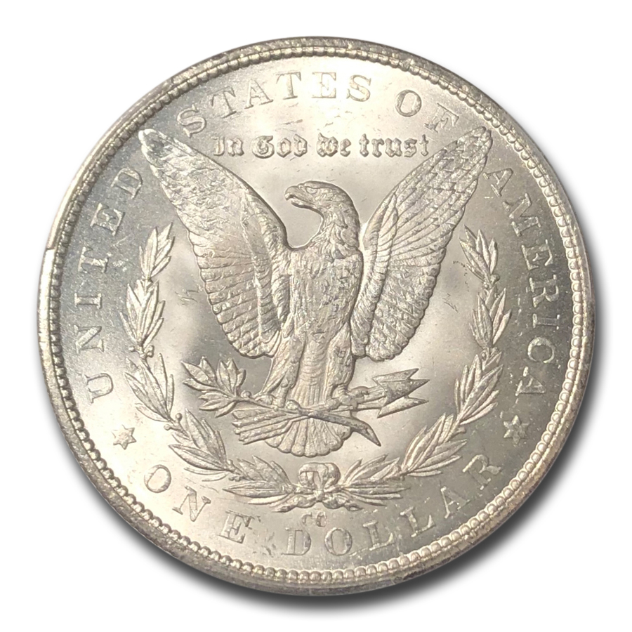1879-CC Morgan Dollar MS-64 PCGS (Capped Die)